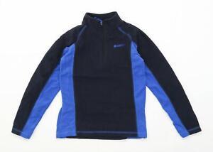 Mountain-Warehouse-Boys-Black-Blue-Jacket-Age-9-10-Years