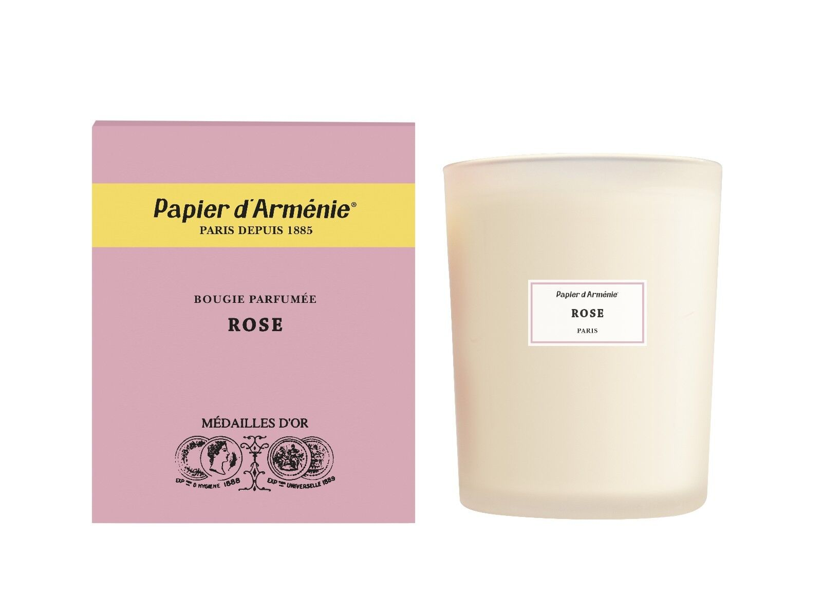 Papier d'Armenie, La pink  Fragrance Candle, A Francis Kurkdjian Collaboration