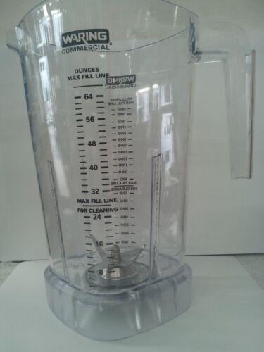 Waring 503398 BLENDER JAR /& BLADE ASSEMBLY FOR MX1000 MX1200 SERIES MX1100