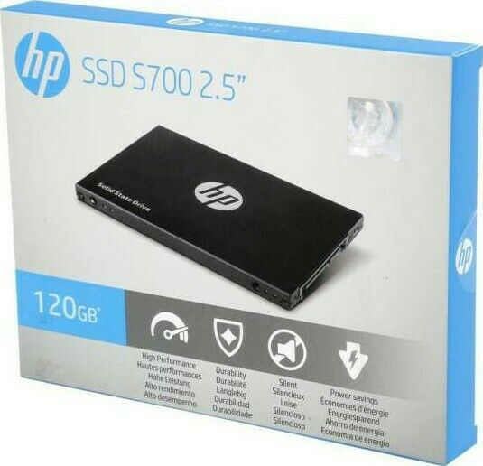 "BRAND NEW HP S700 2.5"" 120GB SATA III 3D NAND Internal Solid State Drive (SSD)"
