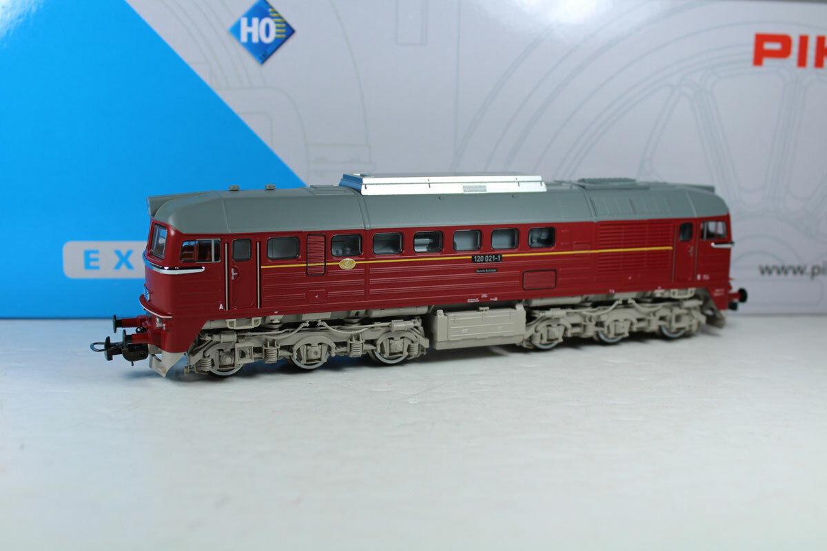 Piko 52807 Diesellok BR 120 021-1 DR Ep. IV Wechselstrom-Digital Neuware.  | Ausgezeichnet