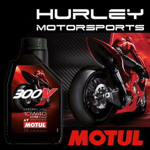 motul 300v road racing 4t 10w40 100 synthetic oil 1l. Black Bedroom Furniture Sets. Home Design Ideas