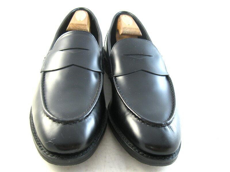 New  Allen Edmonds  Mercer Street   Loafers  11 B  Black  (960)