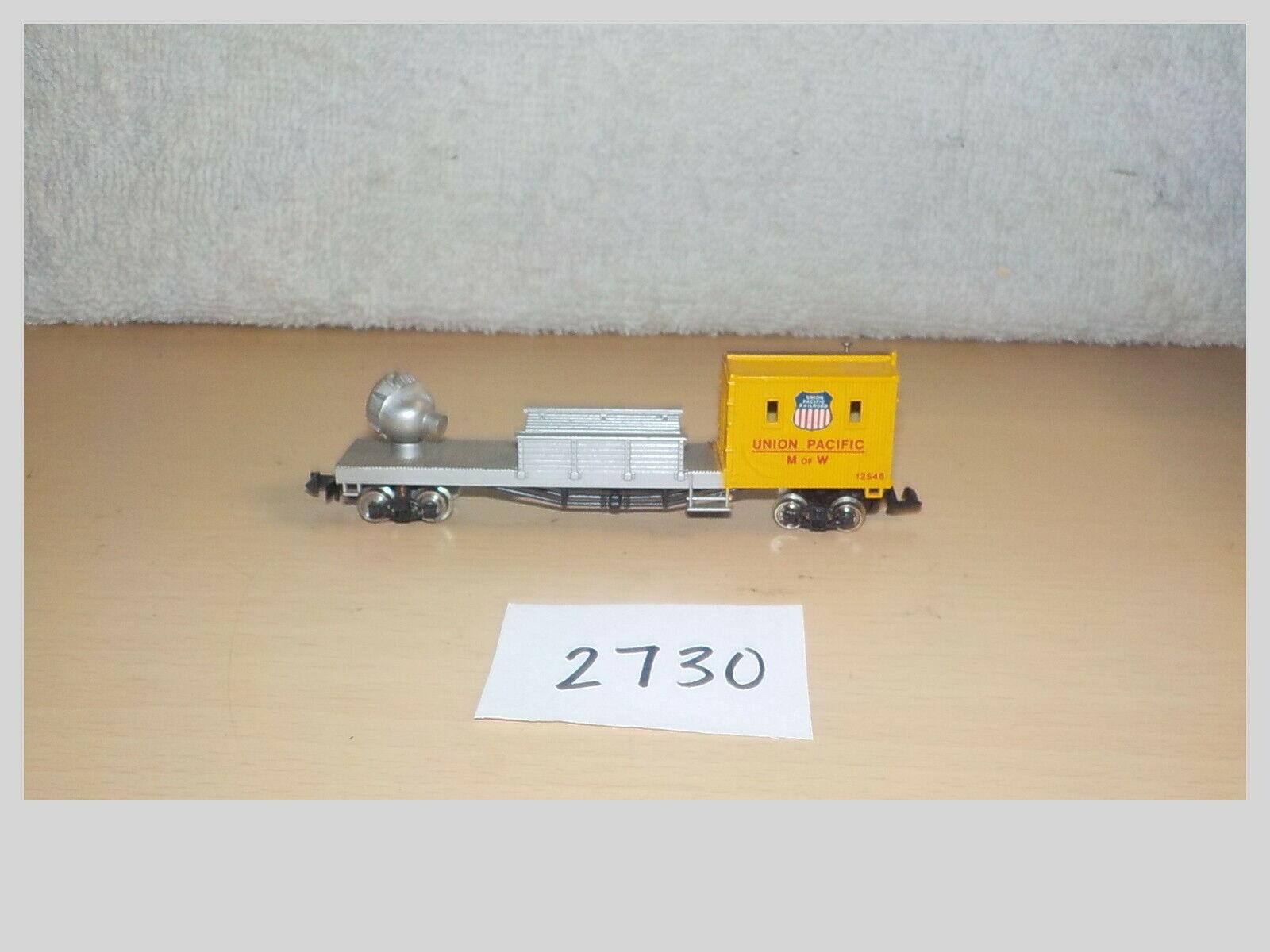 Bachmann 561211101 N Scale Union Pacific Maintenance of Way Floodlight Car 12546