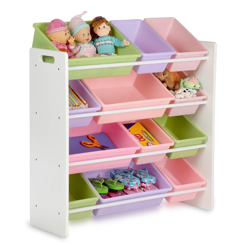 Kids Toy Organizer Shelf Storage Bins