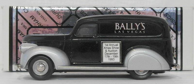Durham, maßstab 1  43 die 17 - 1941 chevrolet van bally las vegas k & r - auktion