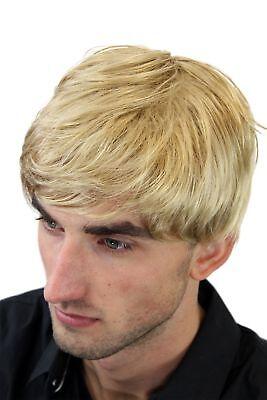 Herrenperucke Perucke Manner Blond Scheitel Herren Kurzhaarfrisur