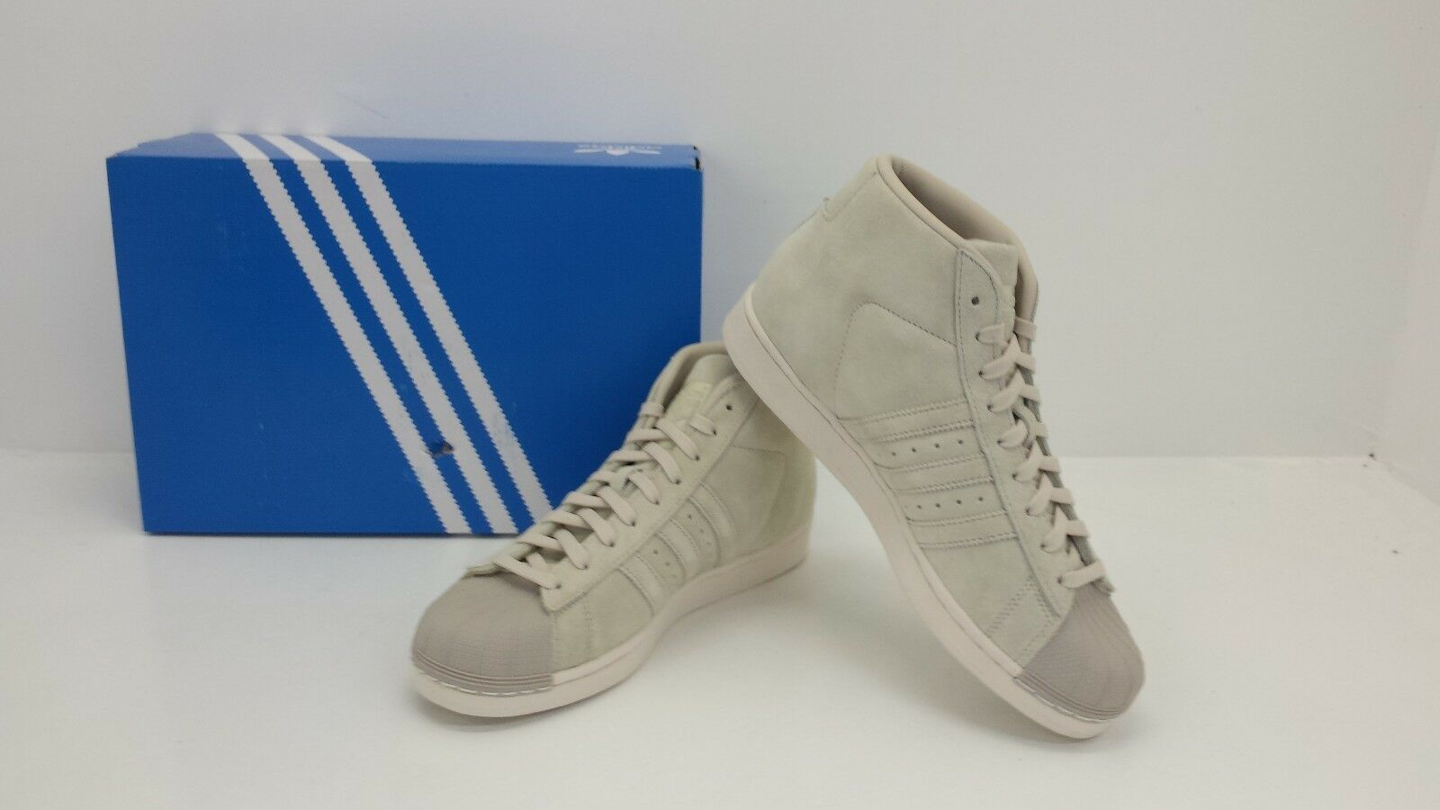 Adidas Originals Men's Pro Model BRAND CBrn/CBlk/Wht Suede BZ0213 - BRAND Model NEW IN BOX 3bd102