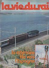 la vie du rail N°1754 du 3 aout 1980 file vers l'espagne