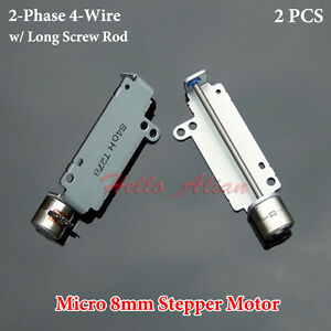 DC5V 2 Phase 4 Wire Miniature 8mm Stepper Motor Mini Stepping Motor Linear Screw