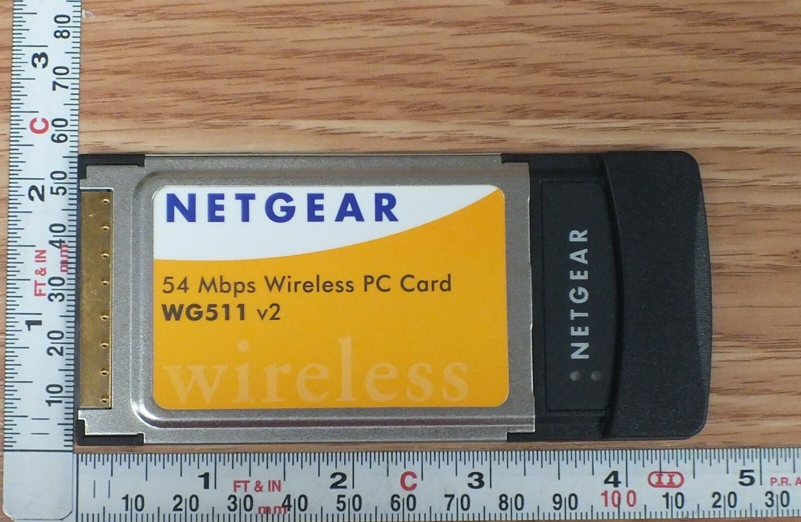 Configuring a netgear wg511v2 wireless pcmcia card for archlinux.