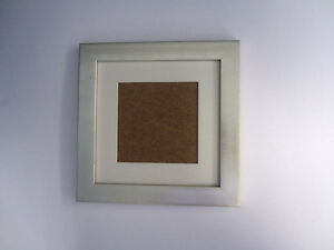Gold 8x8 Square Photo Picture Frame Mount 5x5 Free Standing