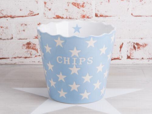 Krasilnikoff CHIPS Schale Hellblau Stern Schüssel STERNE Happy Stars Snacks blau