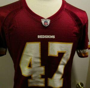 new concept 9681c 974c5 Details about Reebok NFL Washington Redskins Women's Jersey, #47 Cooley, L