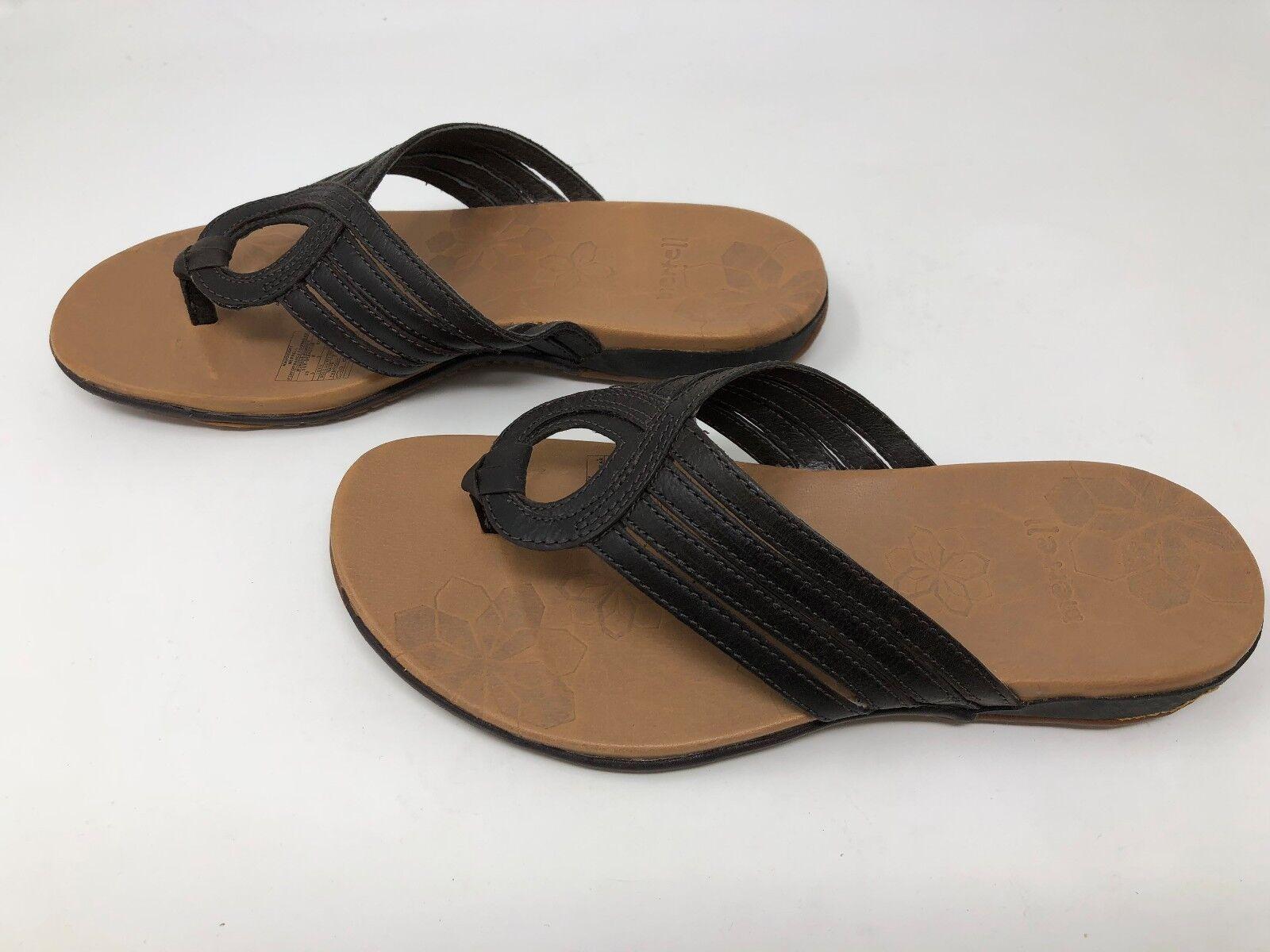 Wouomo Merrell Lidia Mahogany Flip Flops Dimensione 5               20A