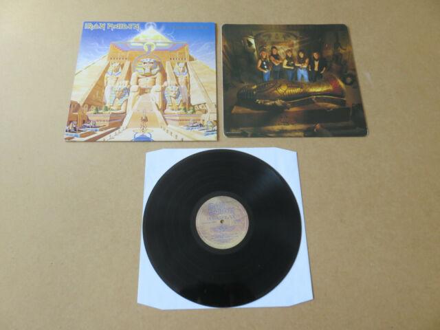 IRON MAIDEN Powerslave EMI LP ORIGINAL 1984 UK 1ST PRESSING POWER1 EJ2402001