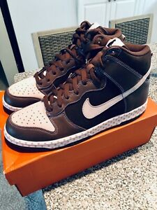 Nike Dunk High Easter Pink Brown DS