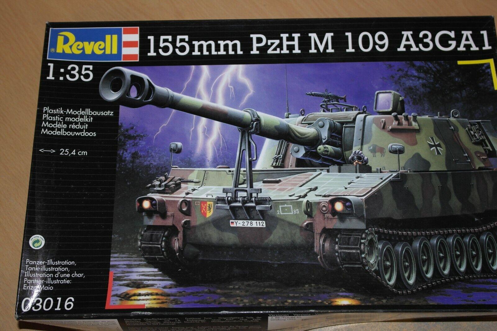 REVELL 1 35 155MM PZH M 109 A3GA1   03016