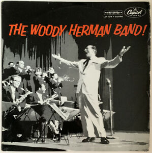 THE WOODY HERMAN BAND SELF TITLED LP CAPITOL UK MONO 1955 EX CONDITION PRO CLEAN