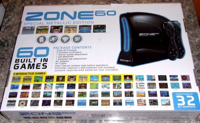 Ultimate Products Zone 60 Special Metallic Edition Black Console For Online Ebay