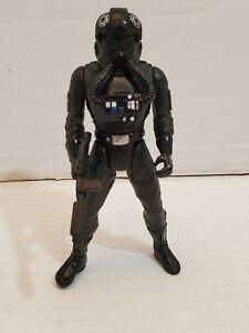 Star Wars Black Tie Fighter Pilot 1997 Kenner With Blaster