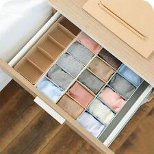 Item 1 Solid 5 Cell Plastic Underwear Bra Sock Tie Organizer Storage Box  Drawer Closet  Solid 5 Cell Plastic Underwear Bra Sock Tie Organizer  Storage Box ...