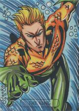 1686b118034ef DC Comics Justice League Tarot Sketch Card by Ulisses Gabriel of Aquaman