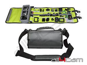 Roll-Up-Case-Shoulder-Bag-for-GoPro-HERO-3-3-4-5-Canvas-Travel-Camera-Case