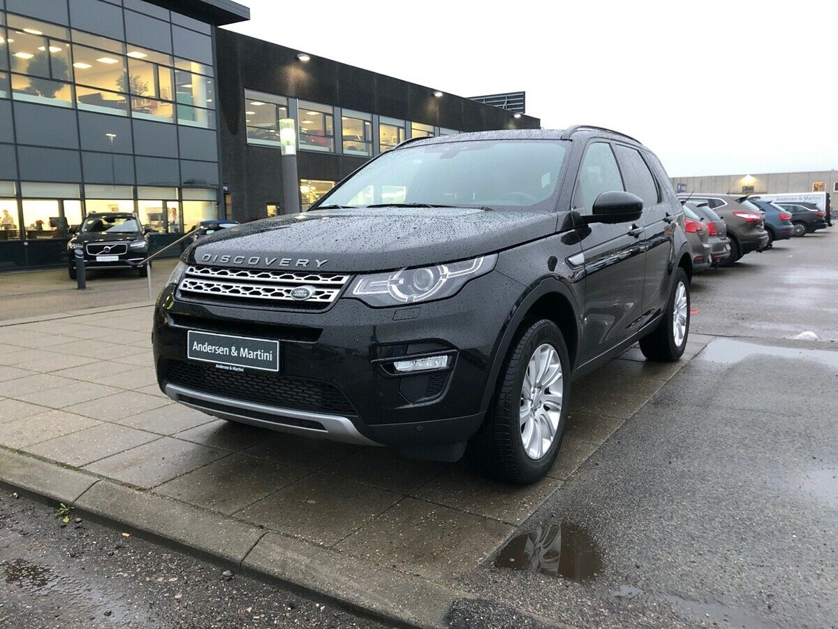 Land Rover Discovery Sport 2,2 SD4 HSE aut. 7prs 5d