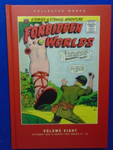 FORBIDDEN WORLDS COLLECTED WORKS VOL.8 HARDCOVER PS ARTBOOKS
