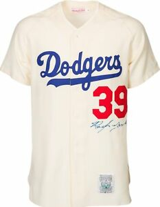 a9dfb1e56 Details about Roy Campanella Signed Authentic Brooklyn Dodgers Mitchell    Ness Jersey PSA DNA