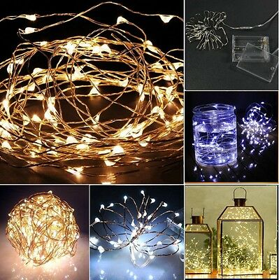new 20er 30er 40er leds warmweiss bunt led lichterkette batterie beleuchtung ebay
