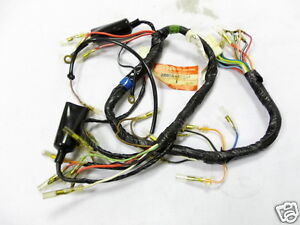 s l300 suzuki gs550 wireharness nos gs500 wire harness 36610 47013 loom Wiring Harness Replacement Hazard at edmiracle.co
