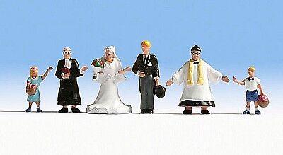 2019 Nuovo Stile Ancora 15860 H0, Matrimonio/sposa Coppia, 6 Figure, Dipinta A Mano, Nuovo-mostra Il Titolo Originale