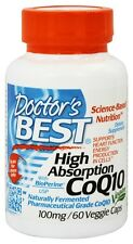 Doctor's Best High Absorption CoQ10 100 mg 60 veggie caps