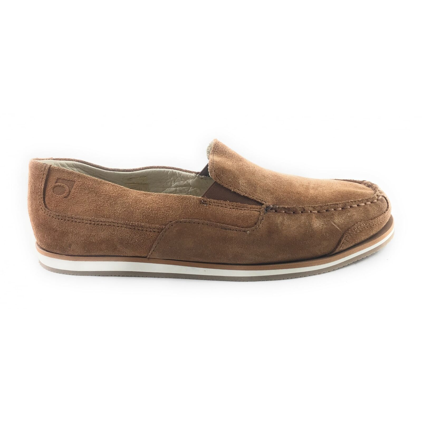 Rohde 5821 Havanna Tan Suede Slip-On Mens shoes