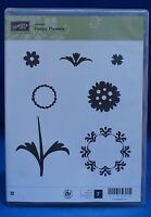Stampin' Up Happy Flowers Hostess Set Of 7 Stamps