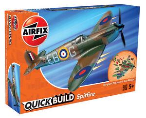 Brand-New-Airfix-Quick-Build-034-s-039-adapte-a-la-boite-034-SPITFIRE-Model-Kit