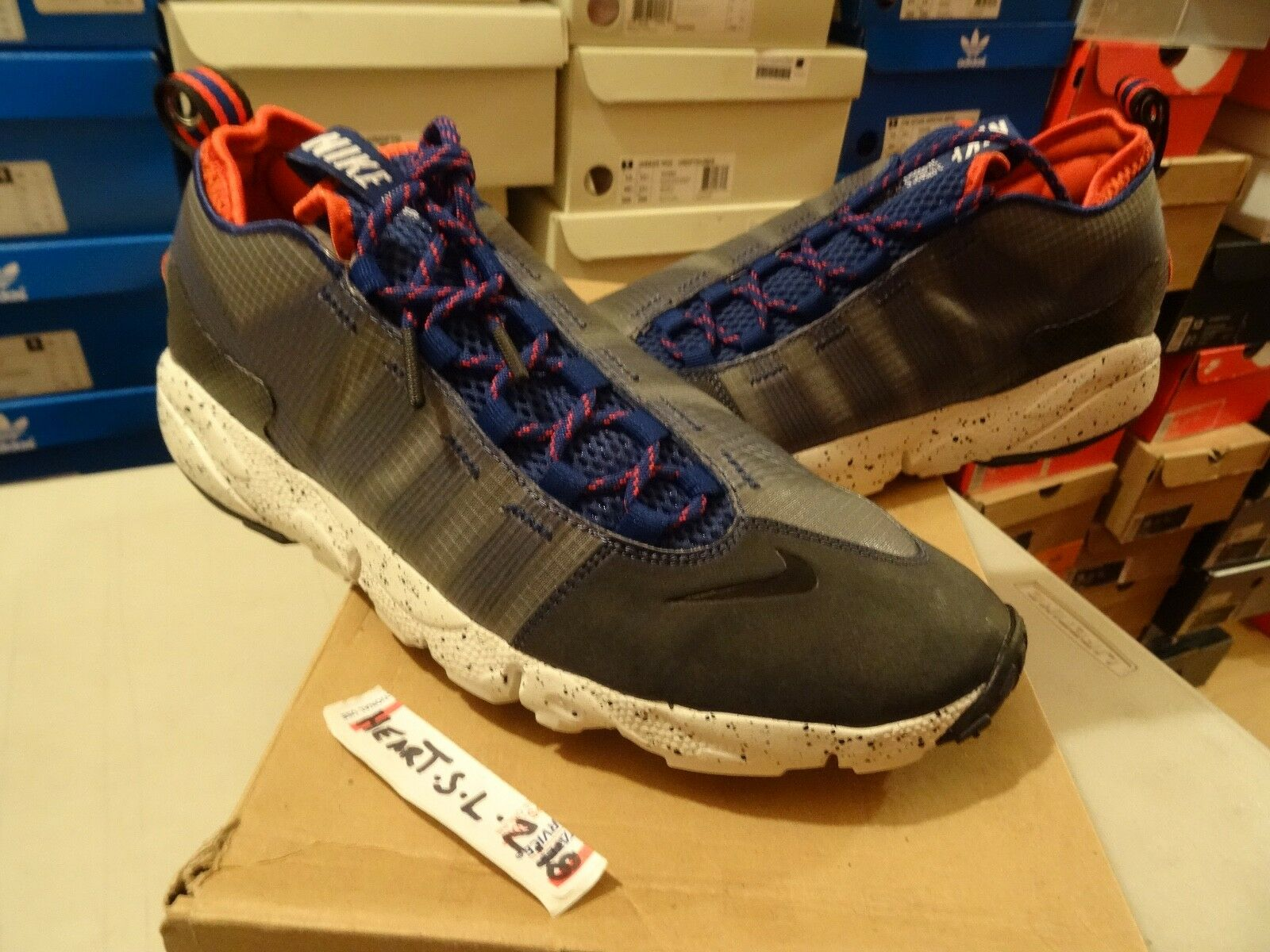 NEW Nike Air MAX FOOTSCAPE MOTION CLIMBERS PACK GREY blueE 397817 003 SZ 10 SB
