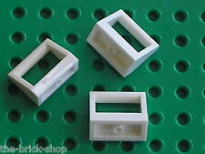 White tile with handle LEGO ref 2432 / Sets 5525 5974 10018 4997 6456 7676 6473