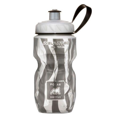 Polar Bottle Zebra Insulated Water Bottle 12-Ounce