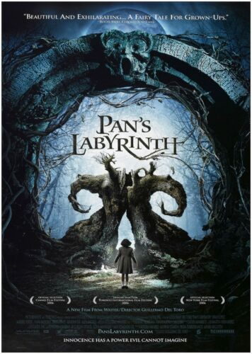 Pans Labyrinth Classic Large Movie Poster Print A0 A1 A2 A3 A4 Maxi
