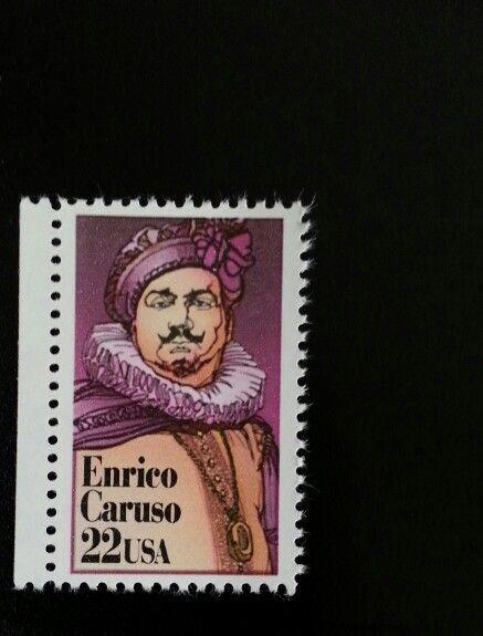 1987 22c Enrico Caruso, Opera, Performing Arts Scott 22