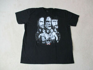 WWE-Undertaker-Shirt-Adult-Extra-Large-Black-White-John-Cena-WWF-Wrestling-Mens