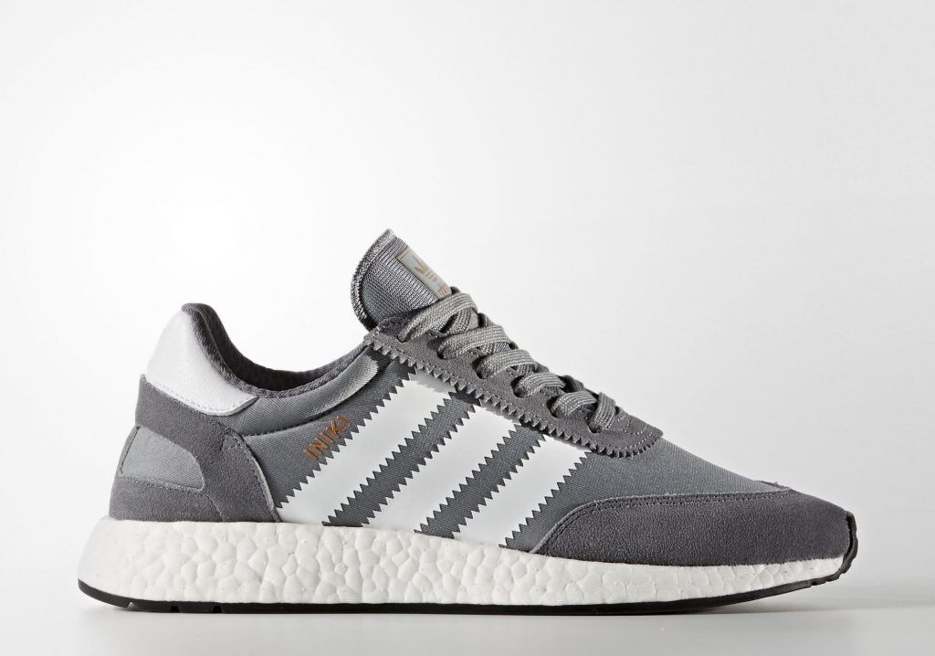 Adidas Iniki Runner Grey White Size 11.5. boost BB2089 yeezy nmd ultra boost 11.5. pk 0775b3