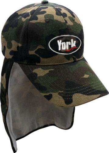 YORK Anglermütze Mütze Kappe Hut Sommer//Winter LED für Angler Camper 18 Modelle!