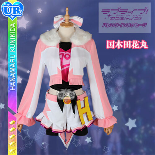 Lovelive Sunshine Aqours Miracle Wave Cosplay Costume Group Members Uniforms