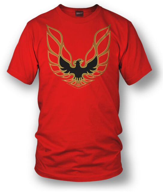 Wicked Metal Shirt - Trans Am Firebird Logo - Red