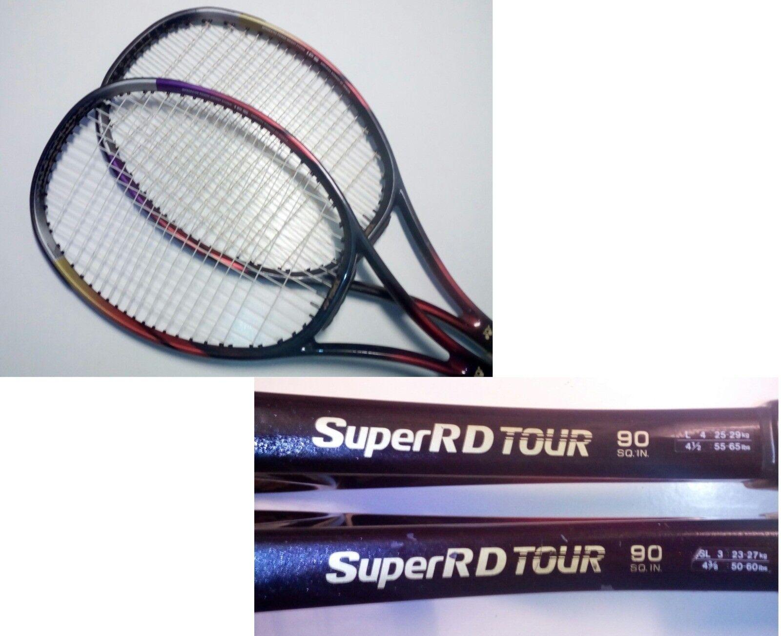 1 x Yonex Super RD Tour 90 * Krajicek Wimbledon 1996 / Hewitt *