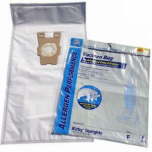 6 Universal HEPA Cloth Bags for Kirby Vacuum F Style Avalir Sentria by DVC
